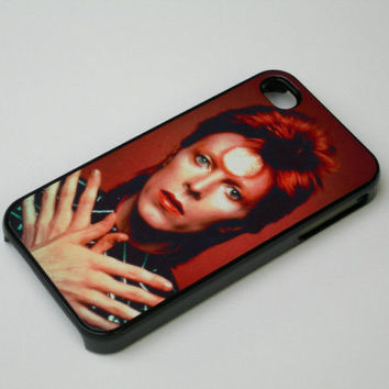 iphone 4 4s mobile phone hard case cover David Bowie Ziggy Stardust