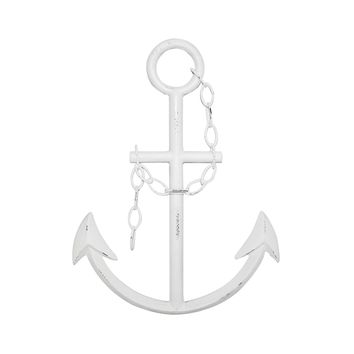 Rustic White Anchor Wall Decor | Beach Decor | Free Shipping & Hassle-Free Returns
