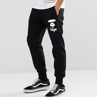 AAPE By A Bathing Ape Joggers With Logo in Regular Fit at asos.com