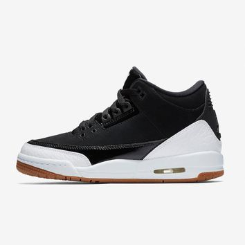 "Air Jordan 3 GS ""Black/White"" - Best Deal Online"