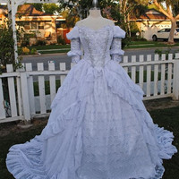 Sleeping Beauty Fantasy Fairy Princess Gown Custom Gown Your Size/Color