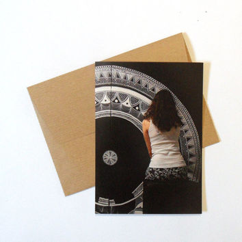 "Postcard with envelope, ""work in progress"", artist photography, photography postcard"
