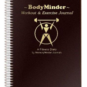 Workout and Exercise Journal (A Fitness Diary) Monitor all your Personal Records