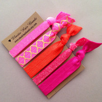 The Debbie Hair Tie Ponytail Holder Collection by Elastic Hair Bandz