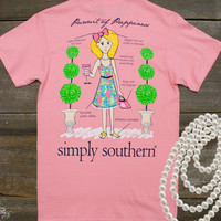 Preppy Pursuit Tee | Simply Southern