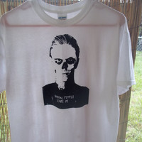 Tate Langdon Normal People Scare Me T shirt (made to order) S,M,L,XL Ladies Cut