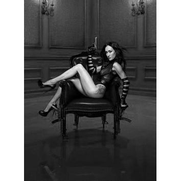 Nikita Poster Standup 4inx6in black and white