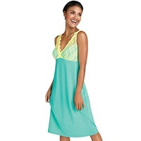 Lace-Trim Wicking Chemise
