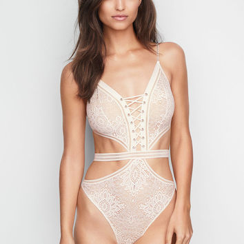 Crochet Lace Teddy - Very Sexy - Victoria's Secret