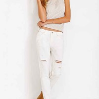 BDG Slim-Fit Boyfriend Jean - White Wash- White
