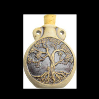 Tree of Life Bottle  Amulet Pendant
