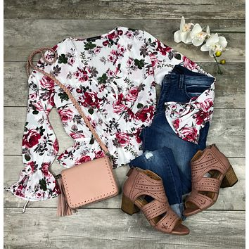Peppy Peplum Blouse