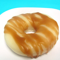 Caramel Glazed Donut  - Food Soap - Vegan - Fun Gift - Sweet Soap - Gift for Foodie - Gag Gift - Funny Gift - Bakery Donut - Soap Drool