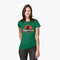 Sasquatch Park Bigfoot Parody T Shirt by bitsnbobs