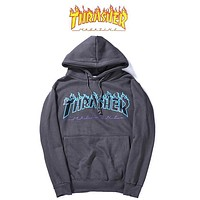 Trendsetter Thrasher Women Men Fashion Casual Top Sweater Pullover Hoodie