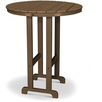 "Trex Outdoor Furniture  Monterey Bay Round 36"" Bar Table"