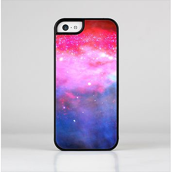 The Vivid Pink and Blue Space Skin-Sert Case for the Apple iPhone 5c