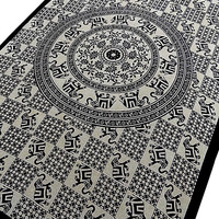 SINGLE cotton mandala hippie tapestry wall hanging bohemian throw indian elephant bedding bedspread ethnic home wall decor