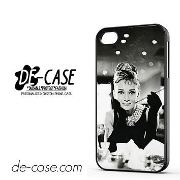 Audrey Hepburn Breakfast At Tiffanys DEAL-1127 Apple Phonecase Cover For Iphone 4 / Iphone 4S