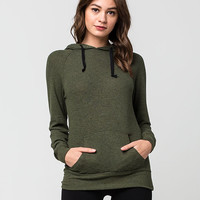 FULL TILT Marled Womens Hoodie | Essentials