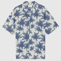 PALM TREE SHIRT - Short Sleeves-SHIRTS-MAN | ZARA United Kingdom