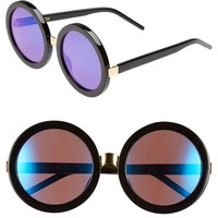 Women's Wildfox 'Malibu Deluxe' 55mm Retro Sunglasses