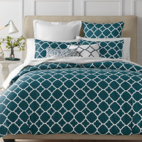 Charter Club Damask Designs Geometric Peacock Bedding Collection, Only at Macy's | macys.com