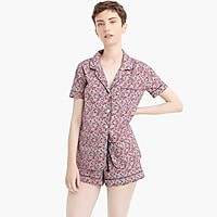 Women's Pajama Set In Liberty® Floral - Women's Sleepwear | J.Crew