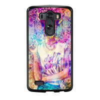 Frida Kahlo Flower Paintings On Galaxy Nebula LG G3 Case