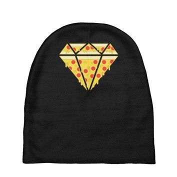pizzas are forever Baby Beanies