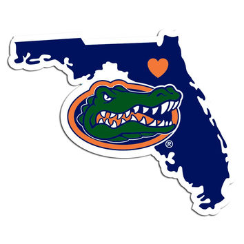 Florida Gators Home State Decal CHSD4