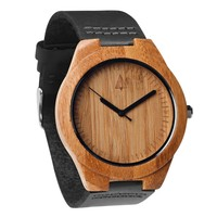 Wooden Watch // Boyd Black