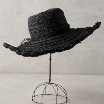 Morisa Crochet Hat by Anthropologie in Black Size: One Size Scarves