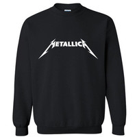 Metallica Rock Star Crew Neck Sweater