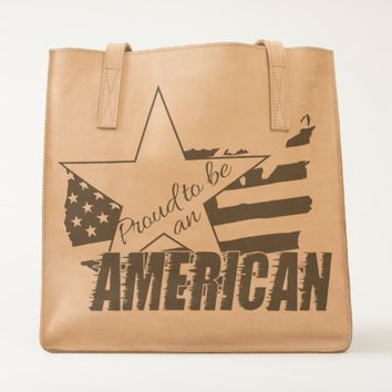 Proud to be an American Tote