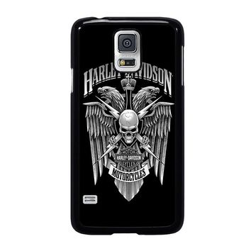 HARLEY DAVIDSON SKULL EAGLE Samsung Galaxy S5 Case Cover