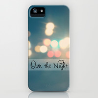 Own the Night iPhone & iPod Case by Beth - Paper Angels Photography