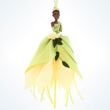 disney parks christmas princess tiana tulle ornament new with tag