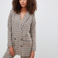 ASOS DESIGN Tailored heritage check blazer at asos.com