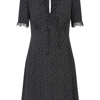 Star Print Tea Dress - Clothing - New In
