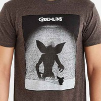 Gremlins Poster Tee- Charcoal