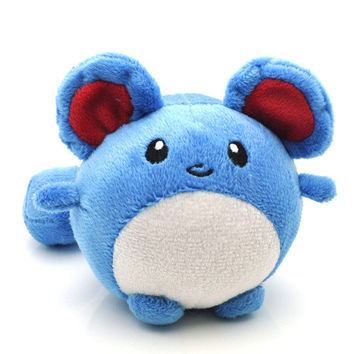Pokemon Marill Soft Plush Kawaii Kids Toy