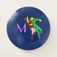 SpaceHawk Rescues The Earth Girl Wham-O Frisbee