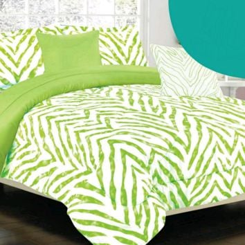 Delta Lime Green Twin Comforter Set