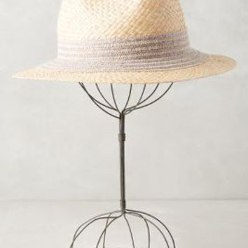 Metairie Fedora by Anthropologie in Grey Size: One Size Hats
