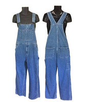 Vintage Overall Men 90s Overall Blue Jean Overall Denim Overall Dungaree Men Dungaree Salopette Overall Pant Overall Jeans Over Alls Clothes