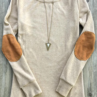Cupshe Youth And Beauty Suede Patch Top