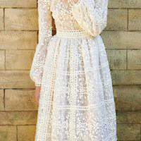 Tea Length Dress | Moda Operandi