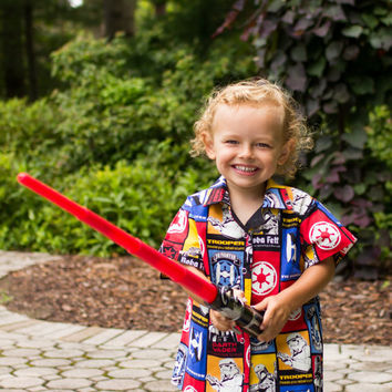 Star Wars - Storm Trooper - Boys Shirt - Little Boys Shirt - Toddler Shirt - Short Sleeve Shirt - Star Wars Clothing - Boys Clothes