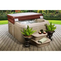 LifeSmart Getaway 4-Person Spa with Matching Spa Step - Walmart.com